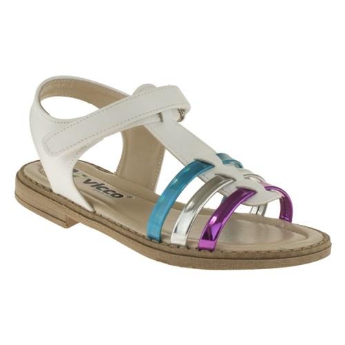 Vicco 211 928U644p Beyaz Sandalet
