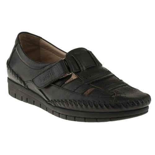 Forelli 230 23407-1Z Siyah Ayakkabı