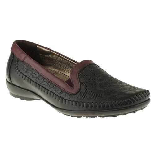 Forelli 230 33023-1Z Siyah Ayakkabı