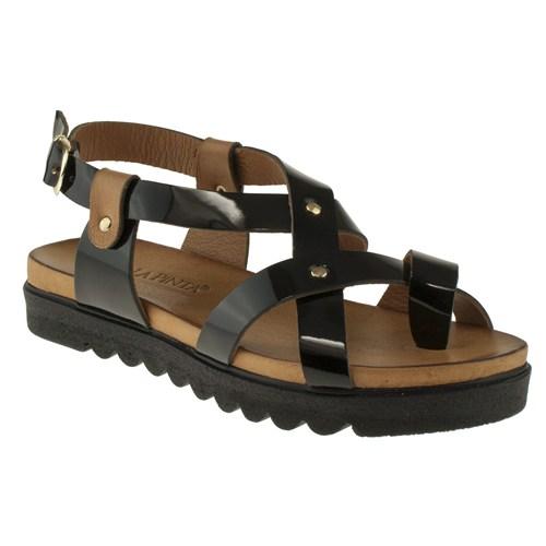 La Pinta 270 403-7127Z Siyah Sandalet