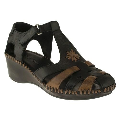 La Pinta 270 418-503Z Siyah Sandalet