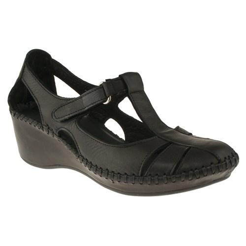 La Pinta 270 209-120Z Siyah Ayakkabı