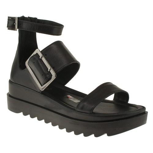 Greyder 99 6Y2ts50143 Siyah Sandalet