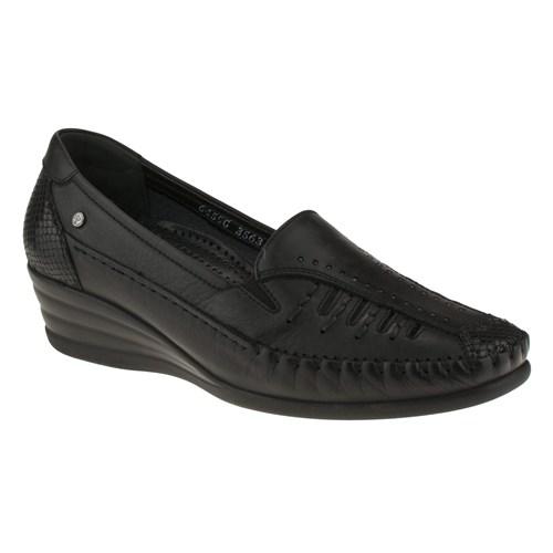 Forelli 230 3563Z Siyah Ayakkabı