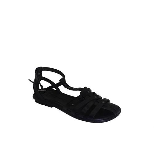 Punto 661078-01 Kadın Günlük Deri Sandalet