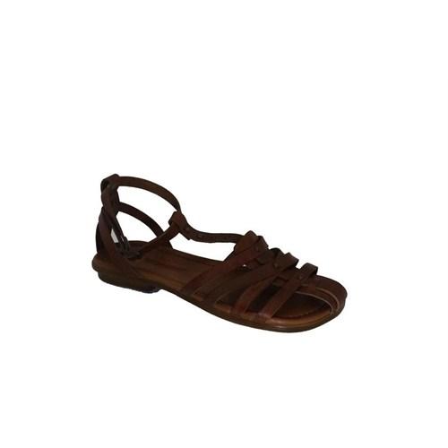 Punto 661078-03 Kadın Günlük Deri Sandalet