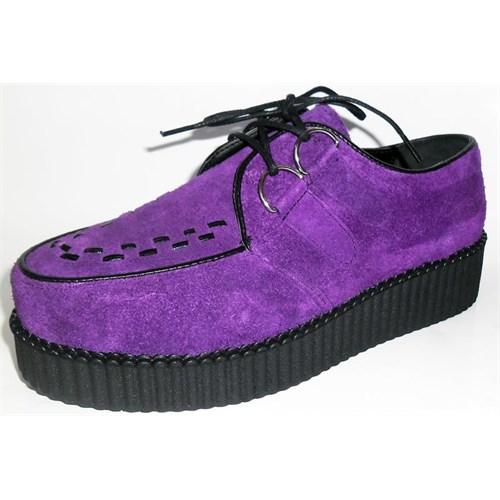 Köstebek Creepers Ayakkabı Mor