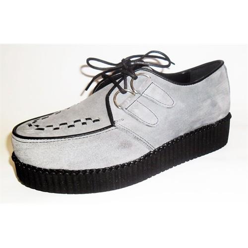 Köstebek Creepers Ayakkabı Gri
