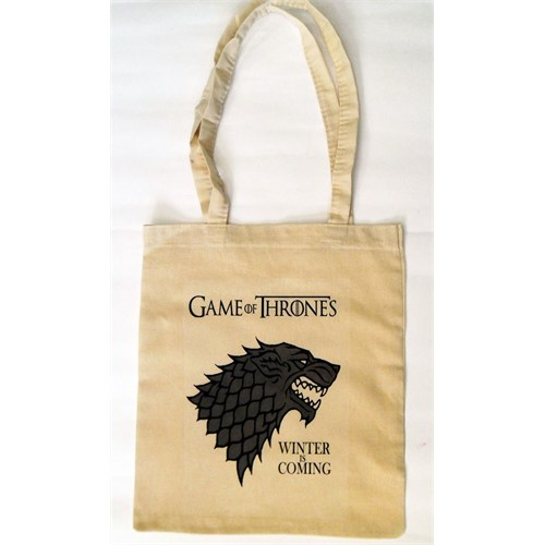 Köstebek Game Of Thrones - Winter Is Coming Stark Bez Çanta