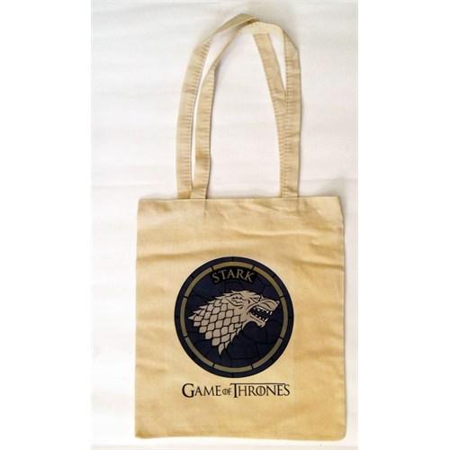 Köstebek Game Of Thrones - Stark Logo Bez Çanta