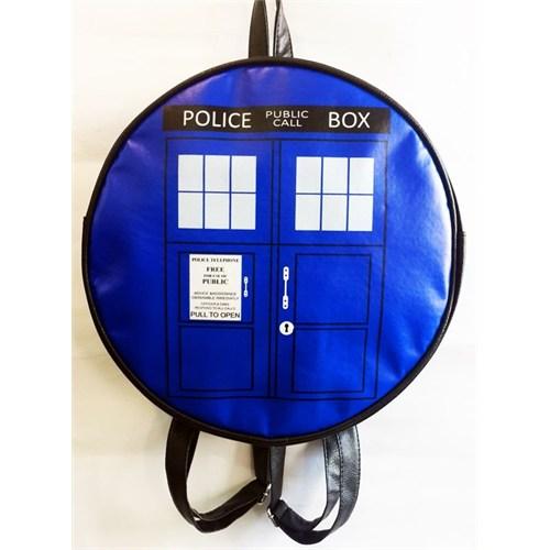 Köstebek Dr. Who - Tardis Sırt Çantası