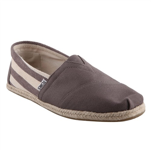 Toms 10005416 Dk Kahverengi Stripe University Erkek Ayakkabı (Kzy)