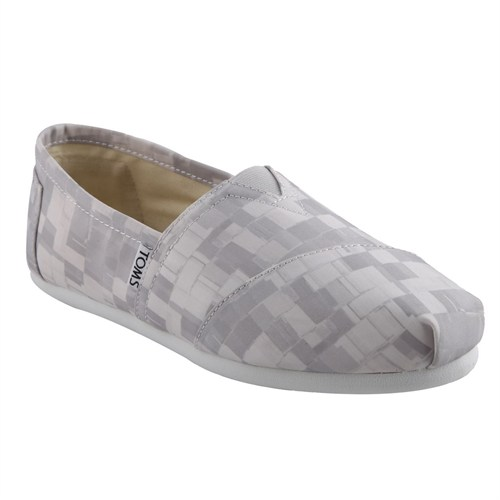 Toms 10004932 Dove Satin Paint Print Bayan Ayakkabı (Kzy)