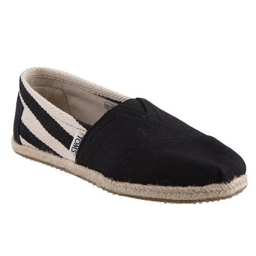 Toms 10005414 Siyah Stripe University Erkek Ayakkabı (Kzy)
