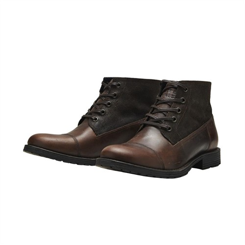 Jack & Jones Bot Jjkingsley Leather/Suede 12095262-Bst