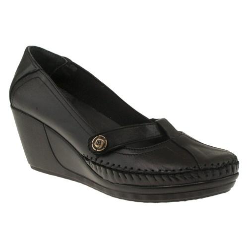 Floor 144 16-710Z Siyah Ayakkabı