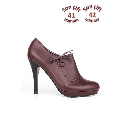 Loggalin 153070 031 232 Kadın Kahve Günlük Ayakkabı
