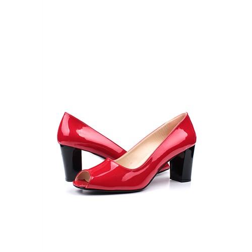 Loggalin 375515 031 559 Kadın Kırmızı Günlük Ayakkabı