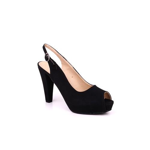 Loggalin 780324 031 008 Kadın Siyah Platform Ayakkabı