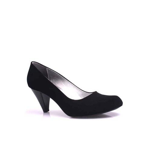 Loggalin 580720 008 Kadın Siyah Süet Ayakkabı