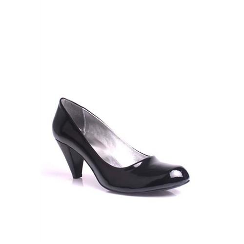 Loggalin 580720 020 Kadın Siyah Rugan Ayakkabı