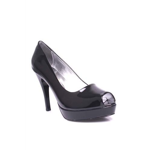 Loggalin 580912 031 020 Kadın Siyah Platform Ayakkabı