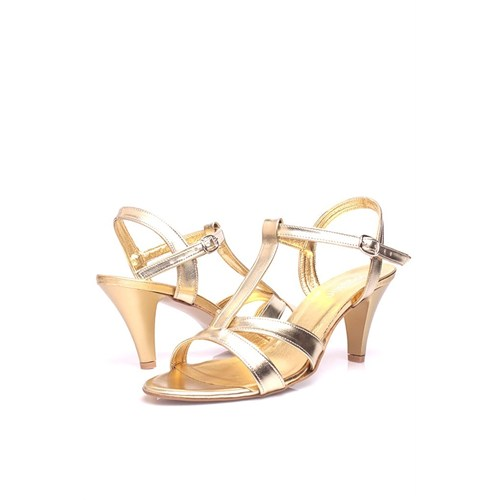 Loggalin 580005 031 721 Kadın Gold Sandalet
