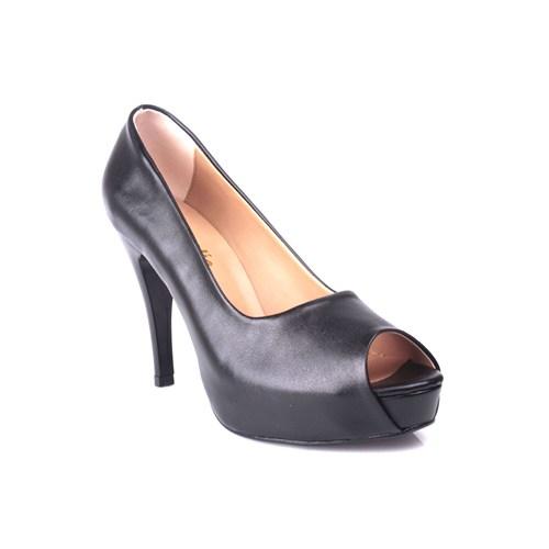 Loggalin 580601 031 014 Kadın Siyah Platform Ayakkabı