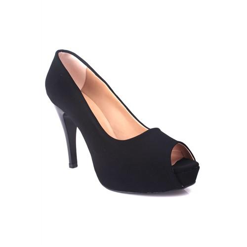 Loggalin 580601 031 008 Kadın Siyah Platform Ayakkabı