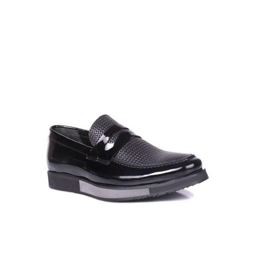 Erkan Kaban 282301 092 020 Erkek Siyah Ayakkabı