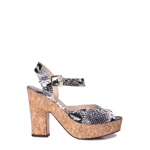 Loggalin 520908 031 028 Kadın Siyah Platform Ayakkabı
