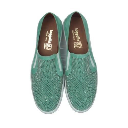 Loggalin 126129 031 672 Kadın Yeşil Ayakkabı