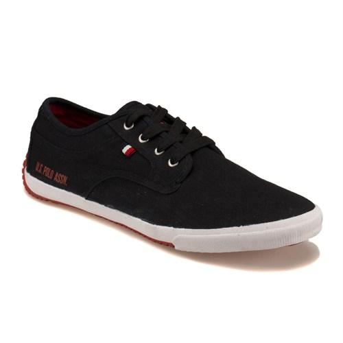 U.S. Polo Assn. Base M Siyah Erkek Sneaker