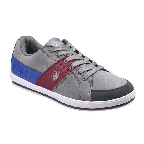 U.S. Polo Assn. A3352997 Gri Erkek Sneaker