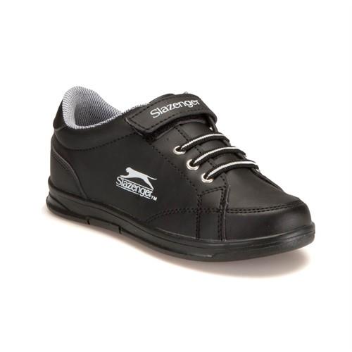 Slazenger Flat Siyah Beyaz Kız Çocuk Sneaker
