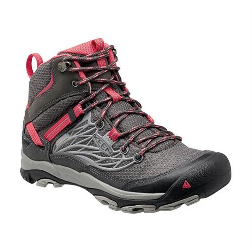 Keen 1013228 Gri Pembe Kadın Trekking Ayakkabı