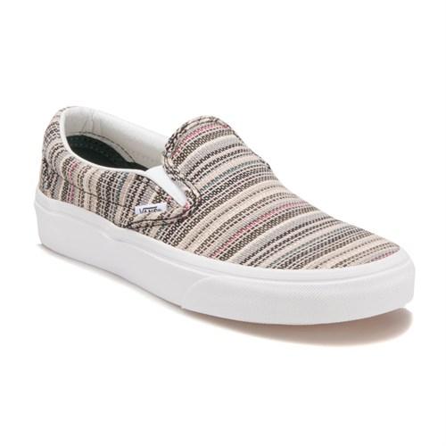Vans V3z4ika-Classıc Slıp-On Gri Kadın Sneaker