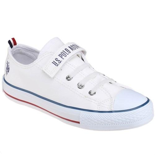 U.S. Polo Assn. Penelope Beyaz Erkek Çocuk Ayakkabı