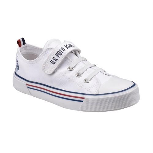 U.S. Polo Assn. A3353255 Beyaz Unisex Çocuk Sneaker