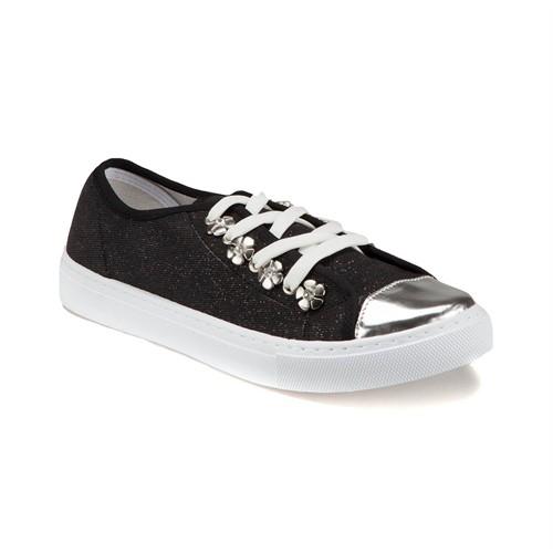 Carmens U1650 Z Siyah Kadın Sneaker