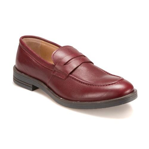 Garamond 3930-1 M 1910 Bordo Erkek Deri Ayakkabı