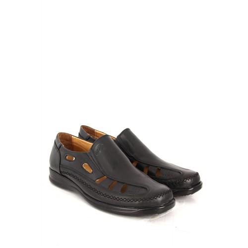 Gön Deri Erkek Ayakkabı 10007 Siyah