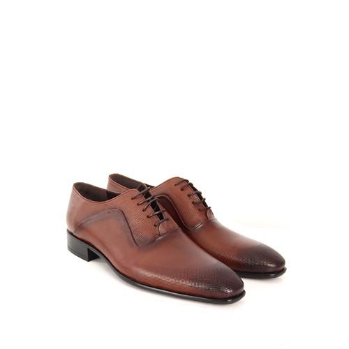 Gön Deri Erkek Ayakkabı 30603 Kahve Antik