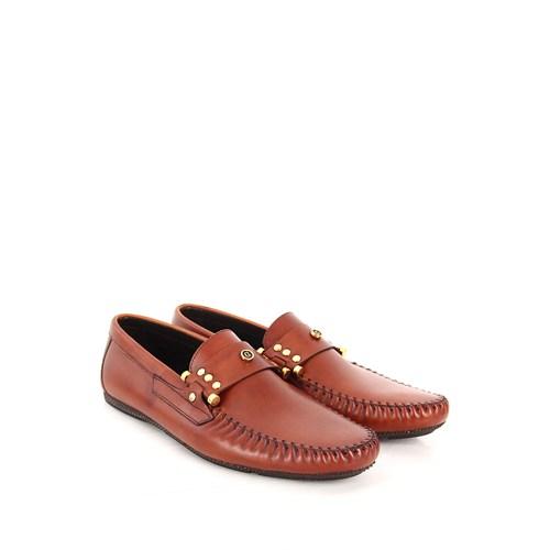 Gön Deri Erkek Ayakkabı 34118 Taba Antik