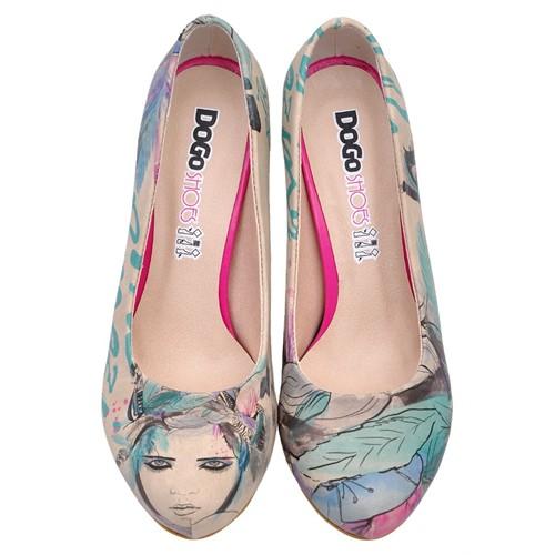 Dogostore Amazing Girl Topuklu Ayakkabı