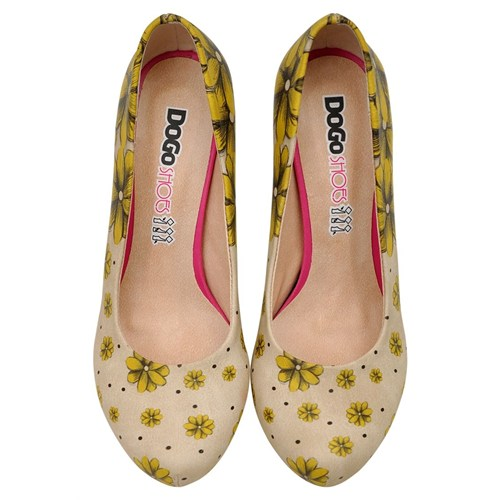 Dogostore Call Me Daisy Topuklu Ayakkabı