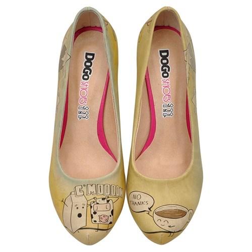 Dogostore Nooooo Topuklu Ayakkabı