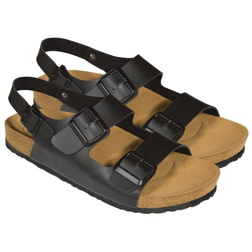 Twigy Pars Erkek Siyah Sandalet