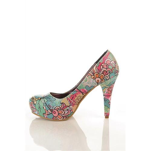 Los Ojo Brc 021 Kadın Topuklu Ayakkabı
