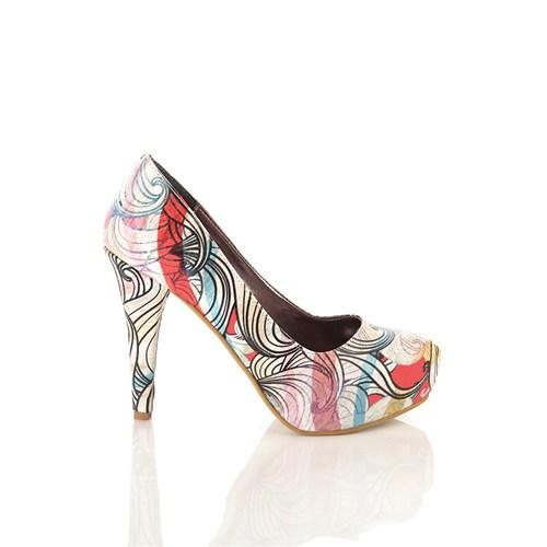 Los Ojo Brc 022 Kadın Topuklu Ayakkabı
